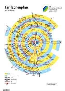 VGI Tarifzonenplan