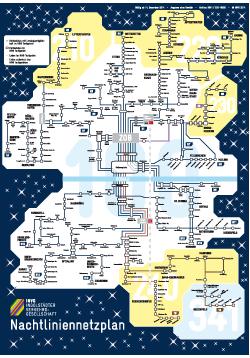 Nachtlinienplan